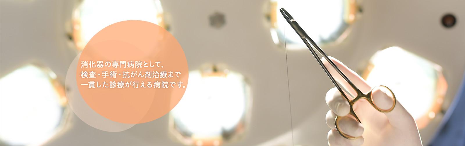 市川胃腸科外科病院|埼玉県越谷市 消化器専門 土日診療